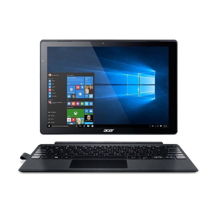 "Refurbished Acer 12"" Tablet 2.3 GHz Intel Core i5-6200U 8 GB Ram 256GB SSD Windows 10 Home #SA5-271-594J"
