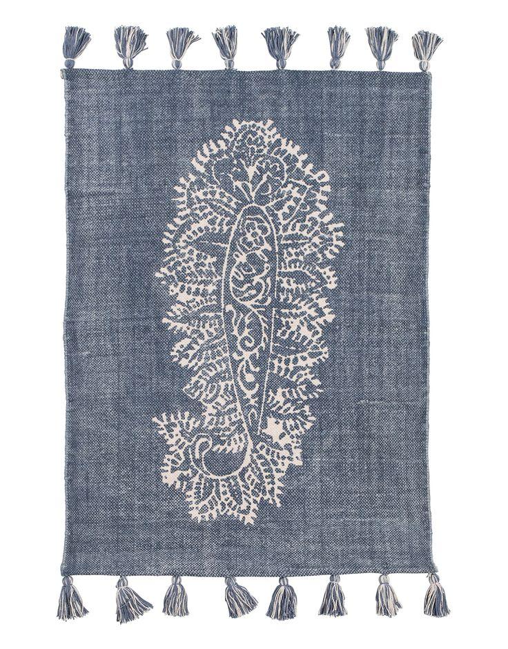 PAISLEY RUG teppe | TextileRug | Indiska.com