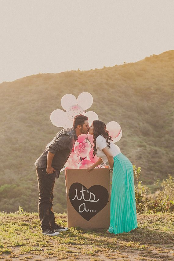 Gender reveal announcement by Yuna Leonard