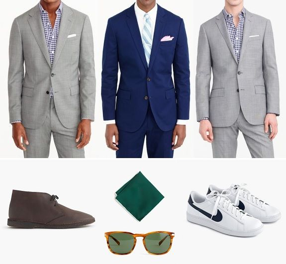 Monday Sales Tripod  J. Crew Stretch Wool Suits Goodyear Welted Shoes & More  The Thursday Handfuls are great but what if Monday (or Tuesday) rolls around and there are a few sales that cant wait til the weekend? Youll find three of the best with a fewpicks from each to start the week below.    #1. J. Crew: 25% off Select  40% off Sale Items w/ FRESHPICKS  Ludlow Wide Lapel Suit Jacket & Pant in Italian Stretch Worsted Wool  $487.50 ($650)  Ludlow or Crosby Fit Italian Chino Suit Jacket…