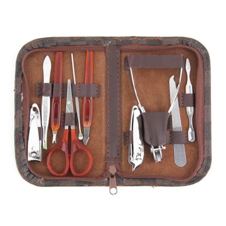 1pc  Man Women Manicure Set 10 in1 Nail Clipper Earpick Grooming Pedicure kit  Selling