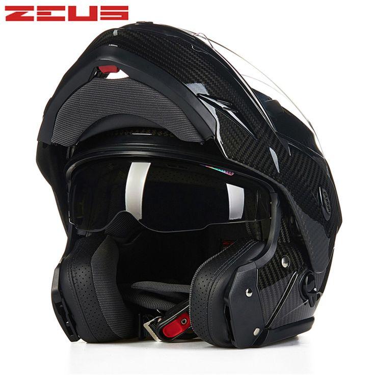 ZEUS Carbonfiber Modular Motorcycle helmet 3500ZS Moto Capacetes Motociclismo Cascos Para Moto Casque Motosiklet Flip Up Helmets-in Helmets from Automobiles & Motorcycles on Aliexpress.com | Alibaba Group
