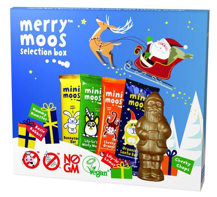 Moo Free Merry Moos Chocolate Selection Box Dairy Free (103g)