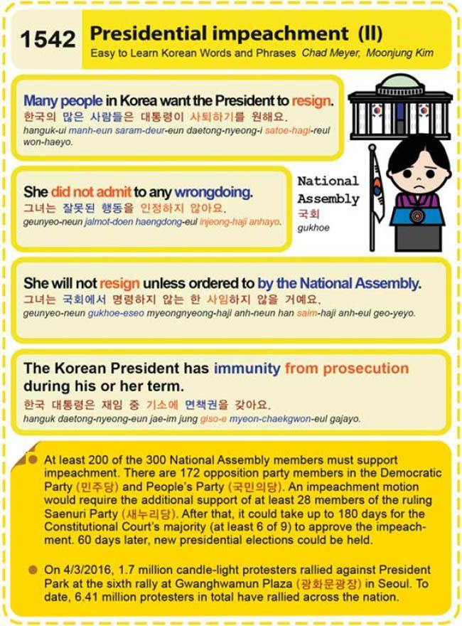 (1542) Presidential Impeachment (II)