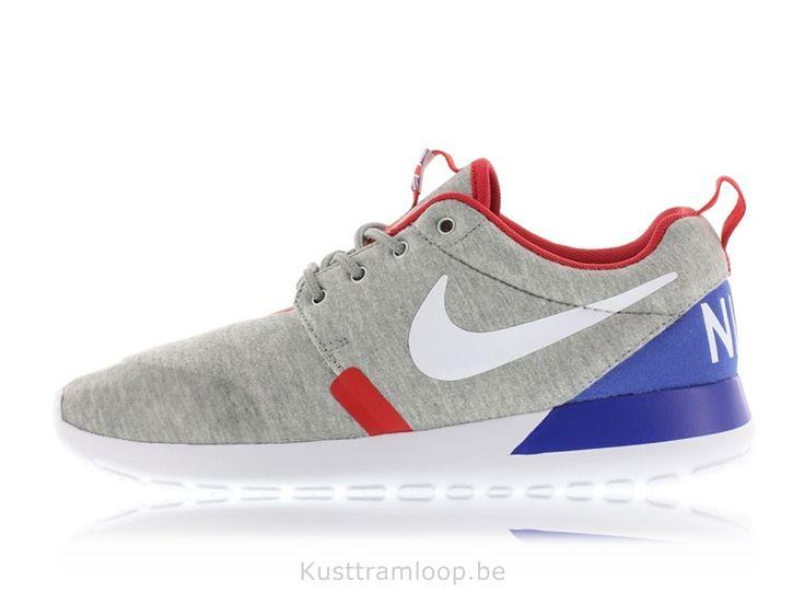 Nike Roshe Run GS Quickstrike Gris Heather / Blanc-Univesity RougeGreat  Bretagne Nike Huarache Free
