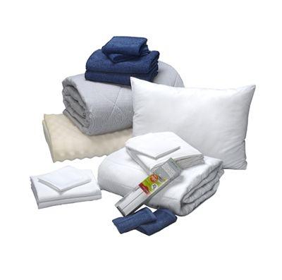 Dorm Bundle - Oxford Gray Stripe - Made in USA