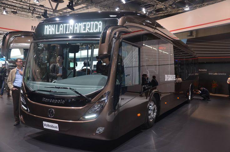 Volkswagen Of America >> Bus Marcopolo Viale BRT - Chassis MAN / Volkswagen #Volksbus | Buses (Latin America) | Pinterest ...