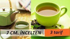 Bir ayda 4 kilo vermek ve 7 cm. incelmek ister misiniz? Ayça Kaya zayıflama çayı tarifi...