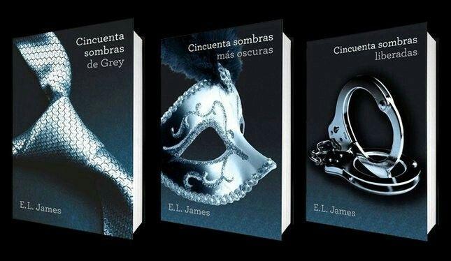 Fifty Shades of Grey, Fifty Shades Darker, Fifty Shades Freed.