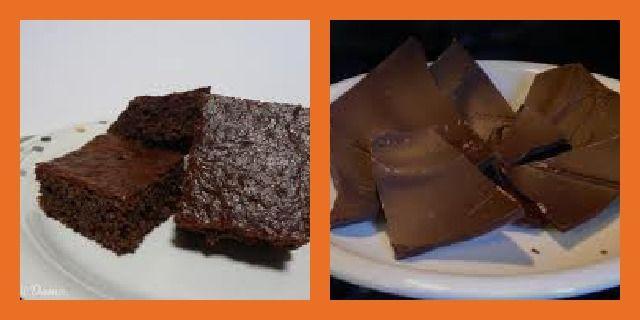 Dolci - Brownies di pane e cioccolato - Non Sprecare