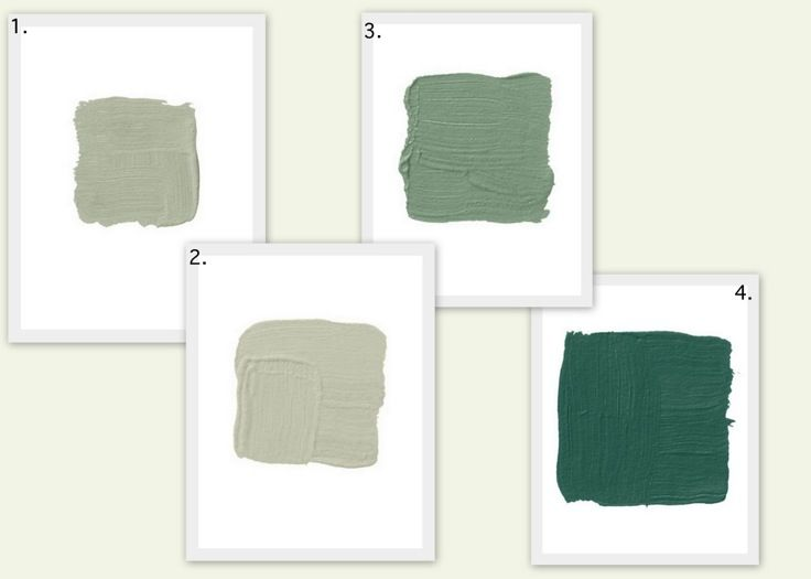 Green Paint Colors As Seen In House Beautiful 1