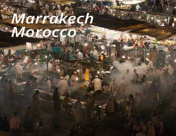 marrakech night markets