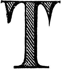 Výsledek obrázku pro illuminated letter t
