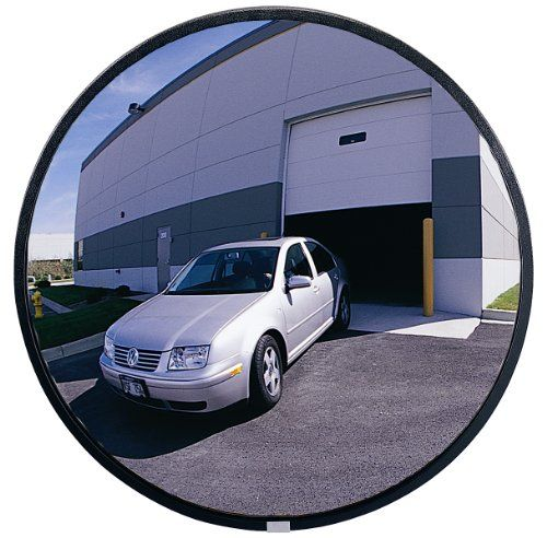 """See All PLXO18 Circular Acrylic Heavy Duty Outdoor Convex Security Mirror, 18"""" Diameter (Pack of 1) SeeAll http://www.amazon.com/dp/B0016LVP2E/ref=cm_sw_r_pi_dp_c7DTub0RRZJDS"""