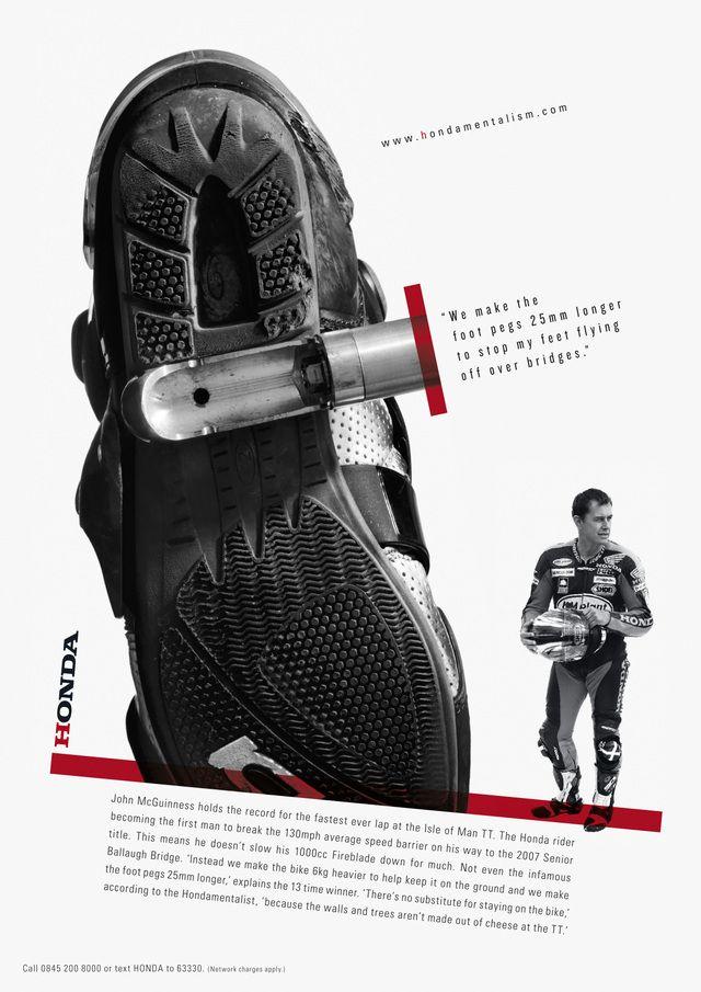 Hondamentalism / Wieden + Kennedy #poster #honda #grafica #multiply #wieden+kennedy #w+k #vintage #costruttivismo #adv
