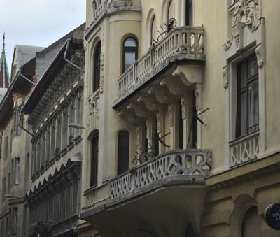 Krudy Luxury Apartment Budapest - house exterior