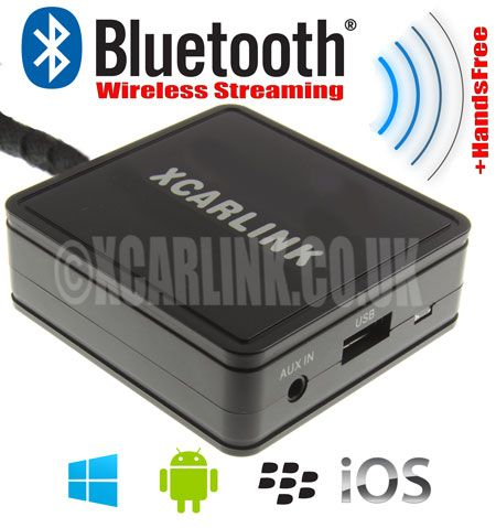 Suzuki Wireless Bluetooth Streaming Handsfree Interface
