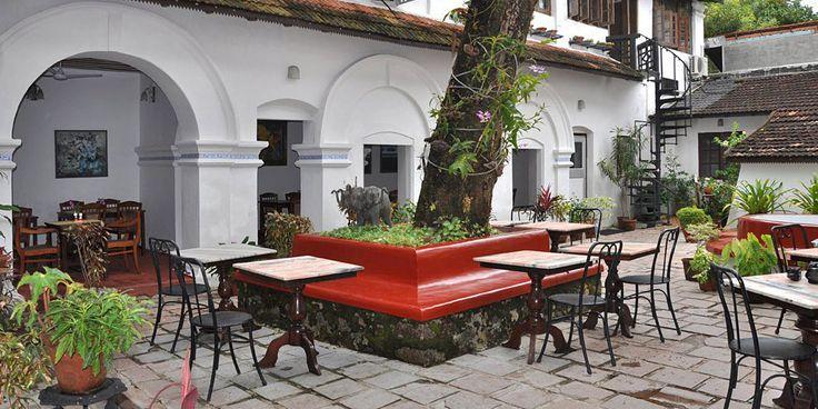 The Old Courtyard Hotel, Cochin, Kerala, India Hotel Reviews | i-escape.com