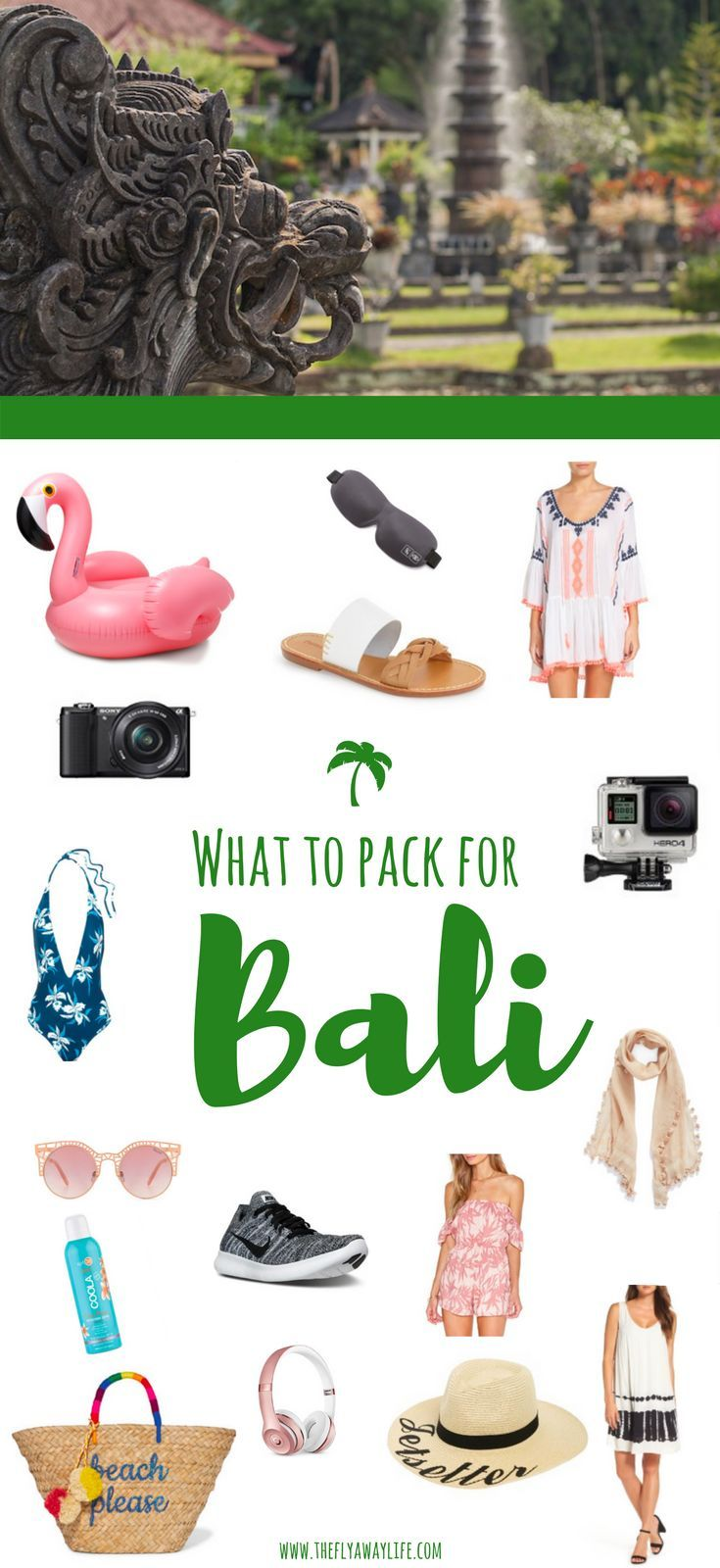 Wondering what to pack for Bali, Indonesia? This Bali packing list will help you decide what to wear in Bali & make sure you don't forget any essentials!