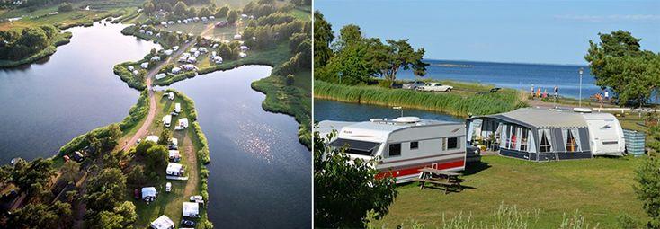 Dalskärs camping – En svensk sommaridyll. Bergkvara.