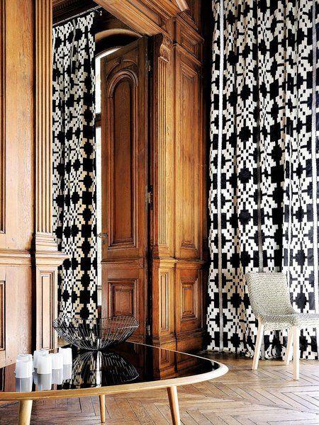 Las 25 mejores ideas sobre cortinas en blanco y negro en for Cortinas en blanco