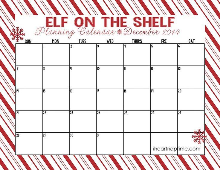 87 best Elf on the shelf ideas images on Pinterest Christmas - christmas checklist template