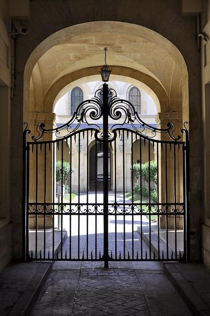 Henri Iv High School Gate Paris Gates Wrought Iron