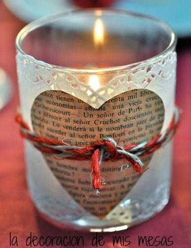la decoración de mis mesas: San Valentin