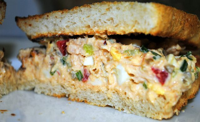 Lori's BEST tuna fish salad in the world - I might be willing to try this ;)