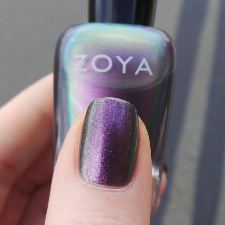 """This """"slick"""" looking shade is Zoya Nail Polish in Ki! ✨"""