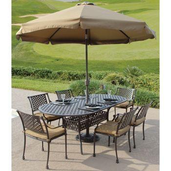 portico 7 piece outdoor dining set download