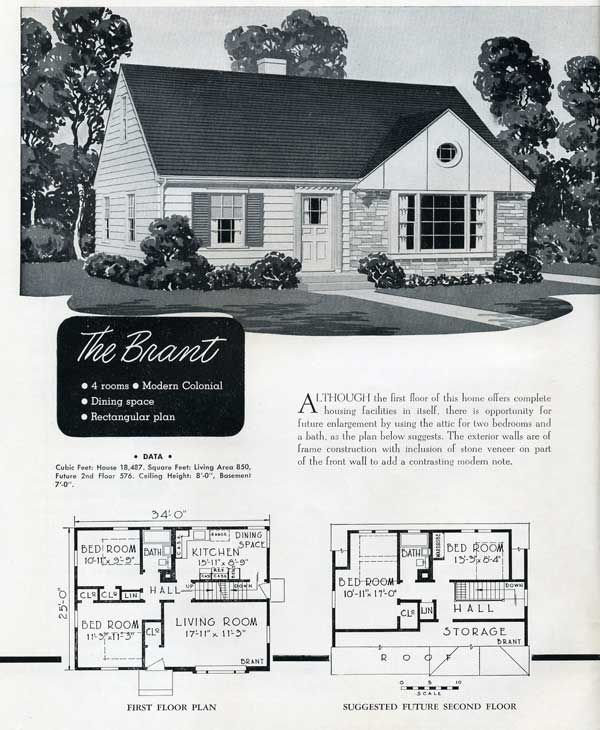 1304 best house plans images on Pinterest | Vintage houses, Small ...
