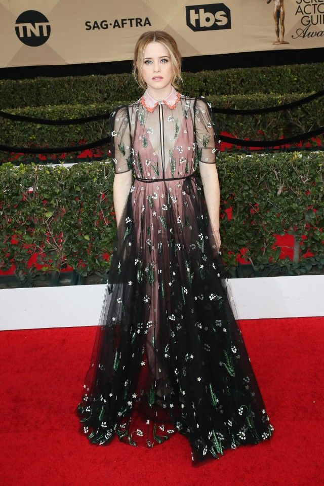 Claire Foy in Valentino SAG Awards 2017