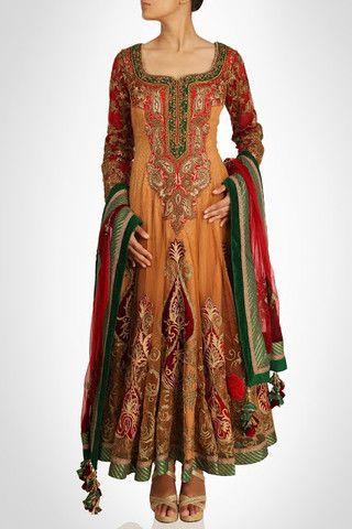Skin color long anarkali suit in pure crepe – Panache Haute Couture http://panachehautecouture.co.in/products/skin-color-long-anarkali-suit-in-pure-crepe