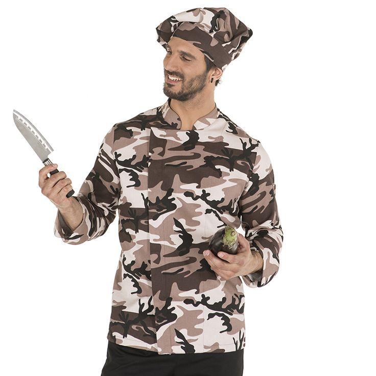 9455 5103 - chaqueta chef goya camuflaje