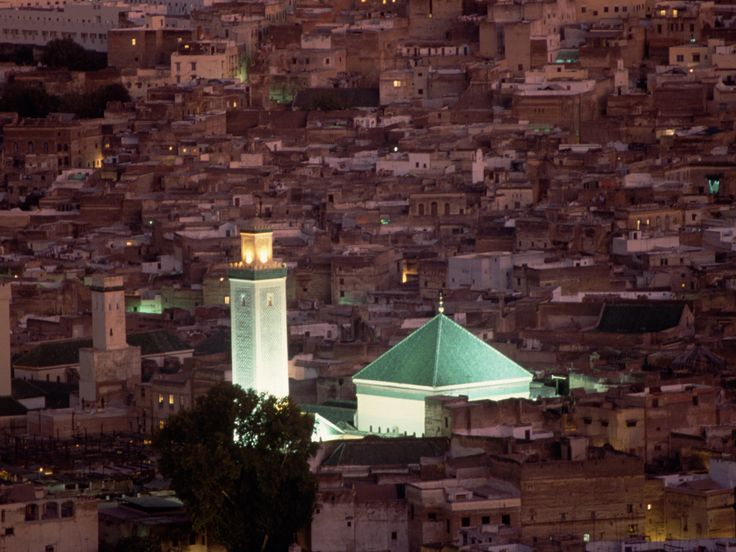 Maroc : Fès, belle de jour, belle de nuit : Geo.fr