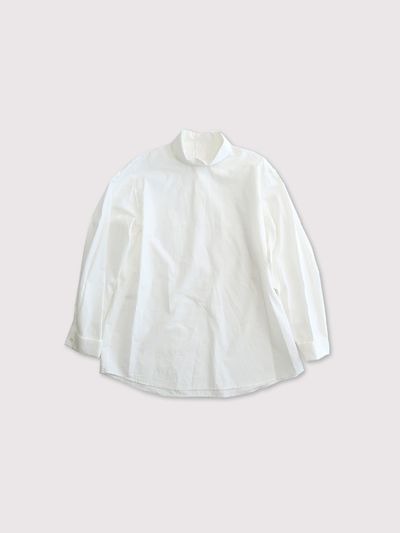 Roll collar blouse 1
