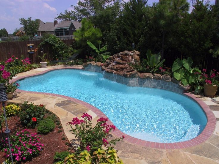 25 best ideas about blue haven pools on pinterest for Pool design okc