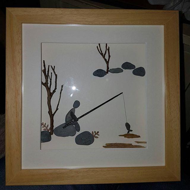 Fishing wooden craft shapes Sea fishing Fisherman craft idea/'s Fisherman gift