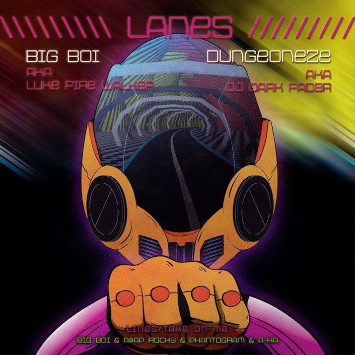 "Big Boi x A$AP Rocky x Phantogram x A-Ha- ""Lanes"""