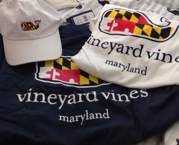 Vineyard Vines Maryland Got These Tees And Hat From Vv