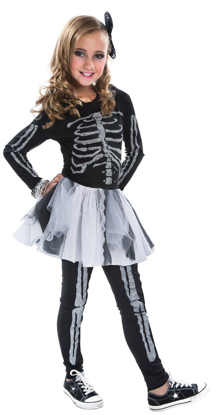 Silver Skeleton Costume for Kids from Buycostumes.com