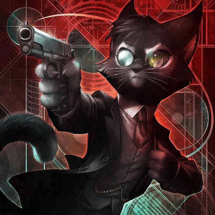 Картинки котов гангстеров