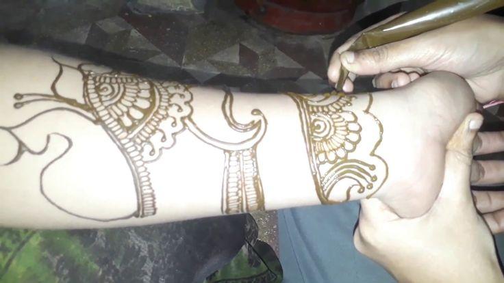 simple and easy beautiful mehndi design