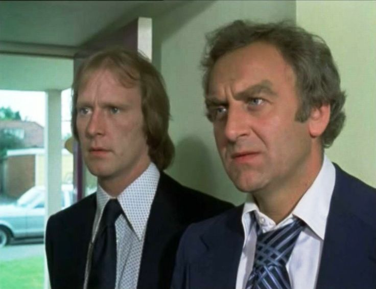 We're the sweeney -and we haven't had any dinner!