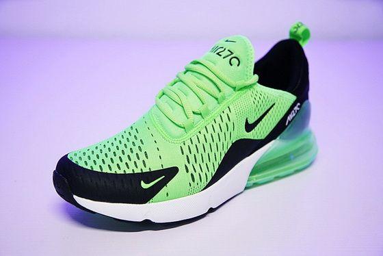 fce27001f3857 Nike Air Max 270 Apple Green White Black Ah8050 301
