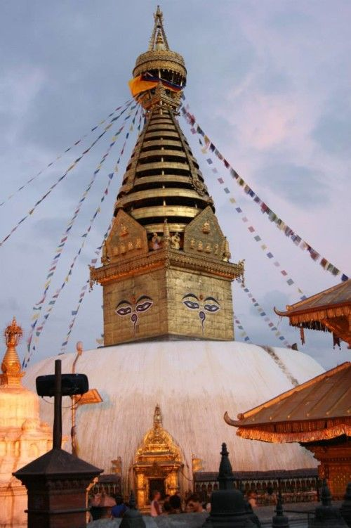 Swayambhunath or commonly known as Monkey Temple
