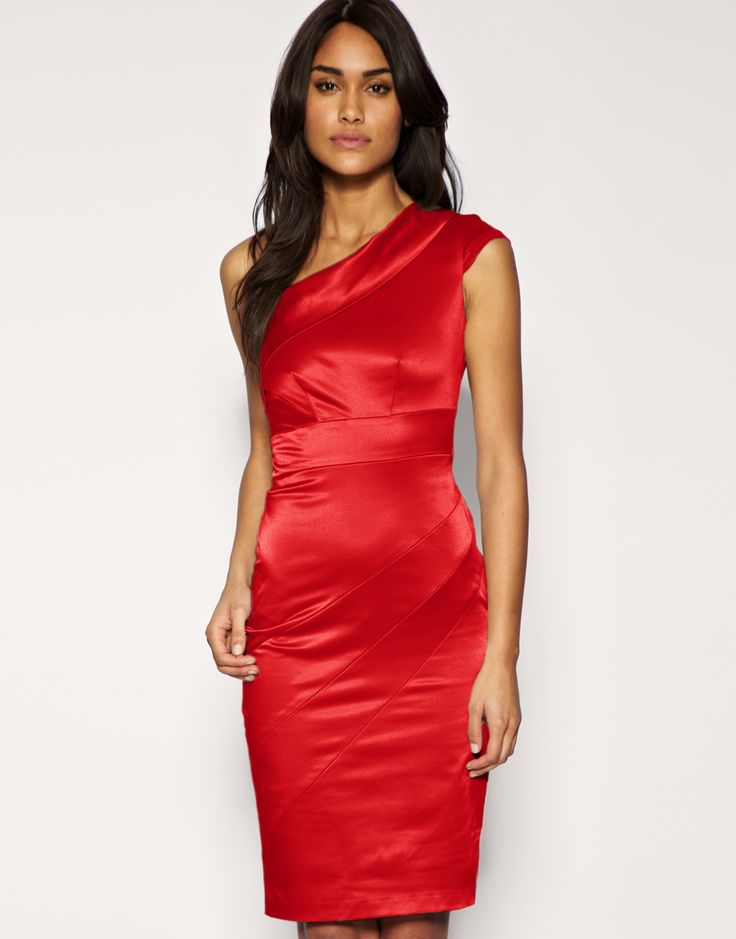 I love the neckline/arms but not really a big fan of the red and a little too form fitting.