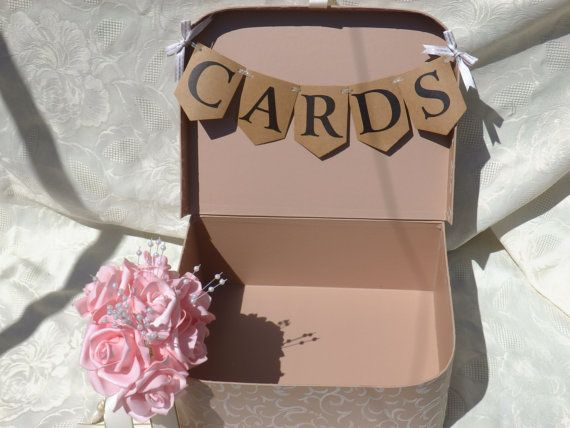 card box. wedding card box. wedding cards case.wedding card suitcase.