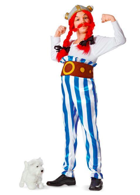 Schnittmuster für ein Obelix-Kostüm zu Karneval oder Fasching via Makerist.de